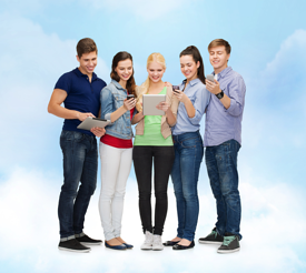 Students in the cloud